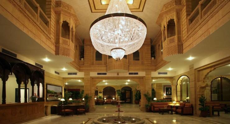 001 Lobby, Gorbandh Palace, Jaisalmer