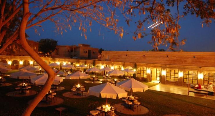 004 Bageecha Restaurant, Gorbandh Palace, Jaisalmer
