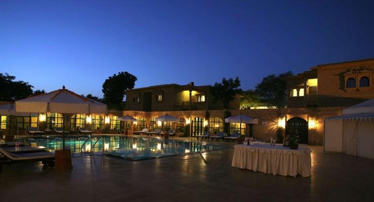 005 Poolside, Gorbandh Palace, Jaisalmer