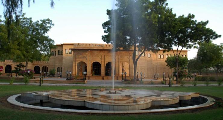 013 Exterior, Gorbandh Palace, Jaisalmer