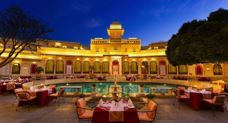 101 The Pool Deck, Shiv Niwas Palace