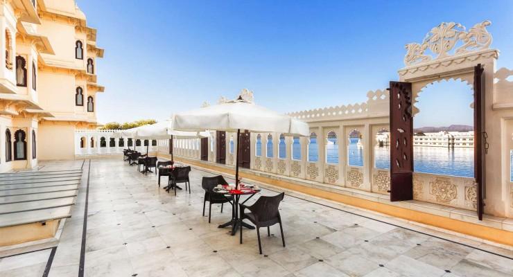 Terrace, Fateh Prakash Palace